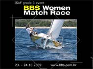 BBS Women Match Race 23 and 24 Oct 2009