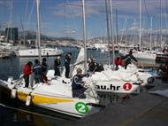 Basic weekend and 7 day sailing courses