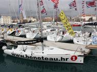Beneteau sailing boats and Ultra sailing school