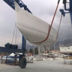 Arrival of the new First 35 in Kaštela