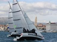 Croatia Boat Show Triple race