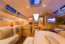 Beneteau First 45 inside view