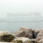Fog at Adriatic sea