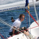 New Year Match race women Beneteau First 7500 Hvar_2