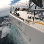 Across Adriatic - from bow