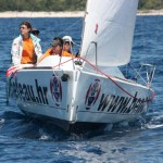 Croatian match race championship for women Frapa
