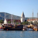 The summer arrival at Ultra charter base Trogir2