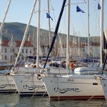 The summer arrival at Ultra charter base Trogir7