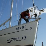 Winter services yacht charter fleet at Kastela