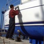 Winter services yacht charter fleet at Kastela
