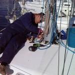 Winter services yacht charter fleet at Trogir