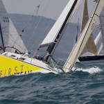Ultra Beneteau sailing boats on regatta Susac1