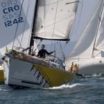 Ultra Beneteau sailing boats on regatta Susac2