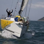 Ultra Beneteau sailing boats on regatta Susac6