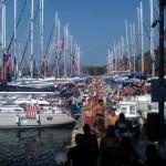 one of the most popular marinas Aci Palmizana near Hvar in the season and out of season...