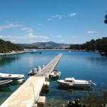one of the most popular marinas Aci Palmizana near Hvar in the season and out of season...