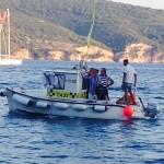 Taxi boat in Komiza