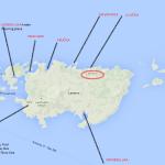 Lastovo map