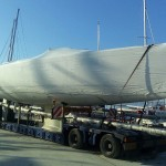 Oceanis 48 arrival in Split