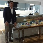 Hrvoje Modric present Croatia dealership for Fountaine Pajot