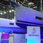 Beneteau sailing boats stand
