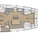 5 cabin- Oceanis 46.1